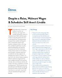 Despite A Raise Walmart Wages Schedules Still Arent