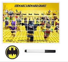 Lego Batman Reward Chart Lego Batman Personalised Reward Chart With Free Pen And