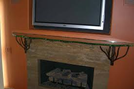 sans soucie fireplace mantel shelf polished and chipped edge glass
