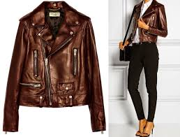 brown leather jacket women forever 21 special jacket