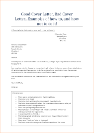 Vibrant Examples Of A Good Cover Letter 11 Example For Resume Cv
