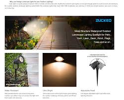One Landscape Light Not Working Details About 5w Led Landscape Spotlight 12v 24v Low Voltage Garden Light Warm White 6 Pack
