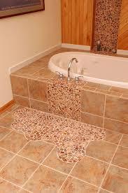 bathroom tile with a twist