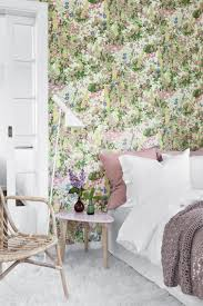 Engaging Home Interior Wall Decor With Scandinavian Wallpaper Design :  Extraordinary Picture Of Girl Bedroom Decoration