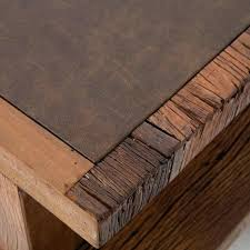 brown leather desk accessories leather desk accessories terrific modern wood slab modular desk with weathered rustic