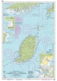 Imray Chart 100 Imray Nautical Chart Imray B32 Carriacou To Grenada