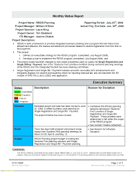Monthly Report Template Word template Executive Report Template 21