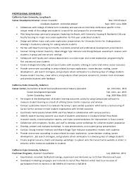 Online Instructor Resume Sample Customer Service Resume Resume For College  Professor College Professor Resume Best Sample