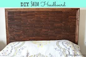 Headboard Diy Diy Shim Headboard