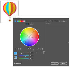 Photo Edit Work With Color Groups Harmonies In Illustrator