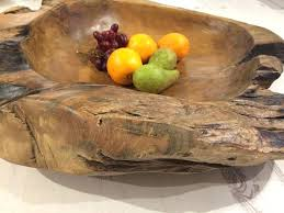 bowl wooden fruit bowl excellent bowls gallery best image engine large teak root with banana