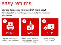 macy s return policy macy s makeup return policy no receipt