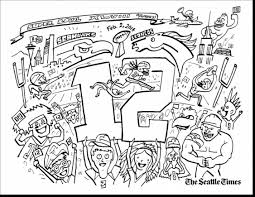 Small Picture astonishing new york giants football coloring pages with seahawks