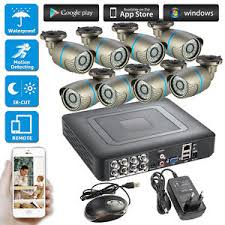 Image is loading 8CH-DVR-CCTV-Home-House-Security-Camera-System- 8CH DVR CCTV Home House Security Camera System Surveillance 720P AHD