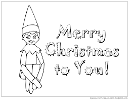 The official facebook page of the elf on the shelf. My Cup Overflows Elf On The Shelf Coloring Page