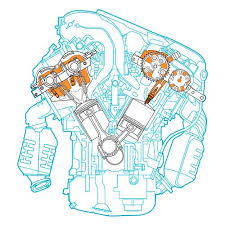 automotive illustrations com engines toyota camry toyota camry engine