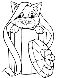 Small Picture 211 best Art Cat Coloring images on Pinterest Coloring books