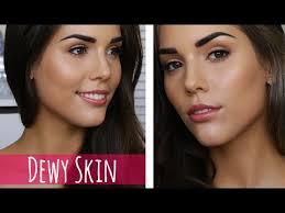 dewy glowing skin makeup tutorial