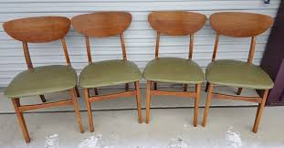 Victor Garrison Mid-Century Danish Modern Clam Shell Dining Chairs, Four  Chairs | Dining chairs, Midcentury modern dining chairs, Chair
