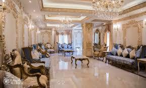 Italian Baroque Interior Design Elegant Luxurious Interior Design Work In Arabian Ranches