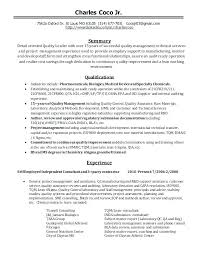 Quality Assurance Job Resume Sample Best Of Quality Control Analyst Resumes Resume Examples Coco Management 24