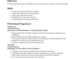 Resume Examples For Skills Section Resume Sample Language
