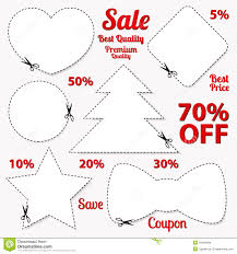 blank christmas labels scissors royalty stock photo coupon tag cut off template scissors patt stock images