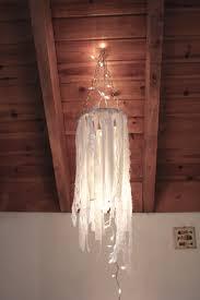 diy whimsical chandelier