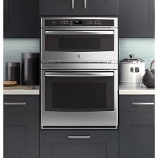 stove microwave oven combo. shop ge profile series self-cleaning with steam microwave convection wall oven combo ( stove
