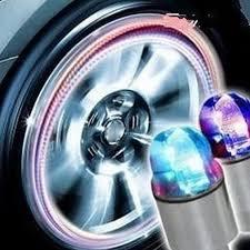 Tire Valve <b>Lamp</b> Flashing <b>LED Light Zinc Alloy</b> Tyre Wheel <b>Light</b> for ...