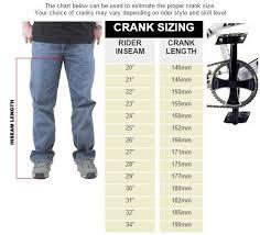 Bmx Gear Chart With Crank Length South Park Bmx