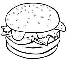 2 Burger Drawing Beef Burger For Free Download On Ayoqqorg