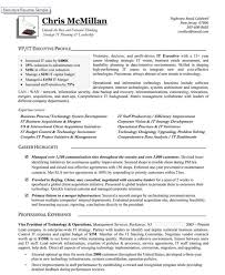 Vice President Of Technology Operations Premium Executive Resume