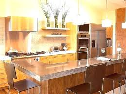 Kitchen With Glass Tile Backsplash Gorgeous Copper Subway Tile Colored Backsplash Color Com Kitchen Glass Tiles