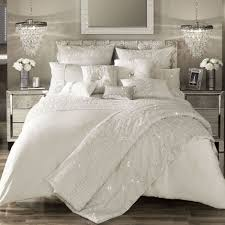 darcey oyster satin duvet cover by kylie minogue at home