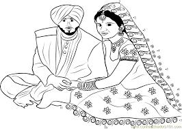 punjabi wedding couple punjabi wedding couple dot to dot printable worksheet connect on wedding worksheets