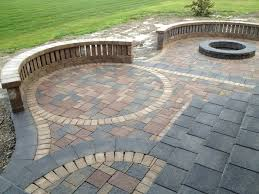 Backyard Paver Designs Mesmerizing Patio Astonishing Paver Patio Designs Backyard Patio Paver Design