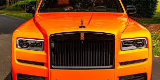 Odell Beckham Jr Orders Custom Rolls Royce In Dawg Pound Orange