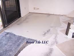 preparation for rectified porcelain tile tile installation preparation