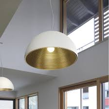 slv forchini m 50 pendant light e27 white gold