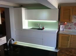 led strip lighting kitchen. led strip lights improve the look of a fitted kitchen led lighting