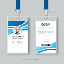 Company Id Card Template Corporate Identity Package Template