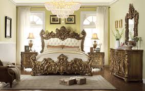 tufted bedroom furniture. 5 pc romanesque ii renaissance style king bedroom set with tufted padded carved headboard and footboard furniture