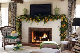 Christmas Fireplace Decorating