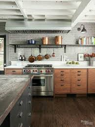 Small Picture Modern Rustic Kitchen slucasdesignscom