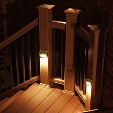 Solar Powered Outdoor Lights For Steps Us 42 23 30 Off 10 Pieces Solar Step Lights Led Solar Powered Stair Lights Outdoor Lighting For Steps Paths Patio Waterproof Deck Solar Lights In