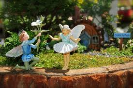 fairy gardening. Beautiful Fairy Fairy Boy Courting Large In Fairy Gardening E