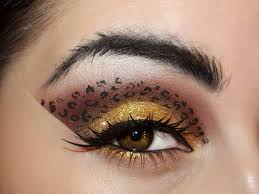makeup eye of the leopard by kikimj leopard eye makeup for