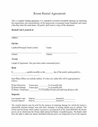 Rental Agreement 24 Simple Room Rental Agreement Templates Template Archive 5