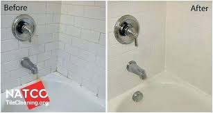 shower caulk mold shower caulk mold before and after pictures of cleaning shower mold resealing grout
